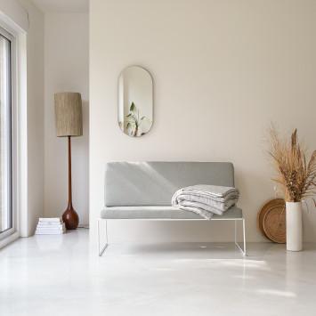 Sofa en tissu Happy grey