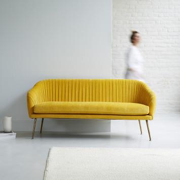 Canapé en tissu Safran