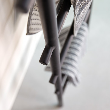 Porte serviette en métal Corto