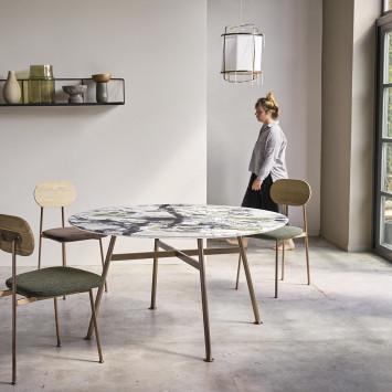 Table Yutapi en marbre 8 pers