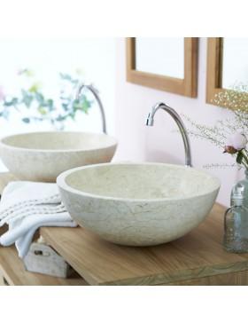 Vasque en marbre Ibyza Cream