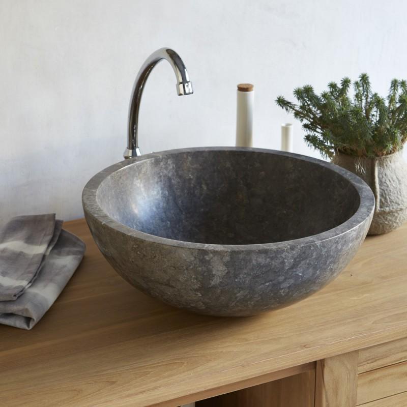 Vasque en marbre Ibyza Grey