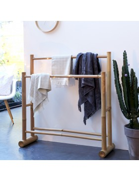 Porte serviette bambou Balyss