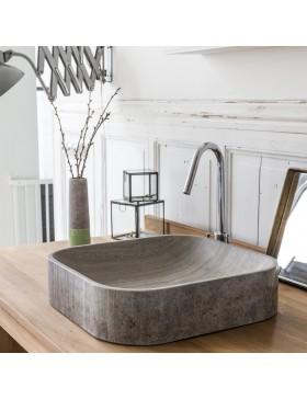 Vasque en marbre Perseus grey