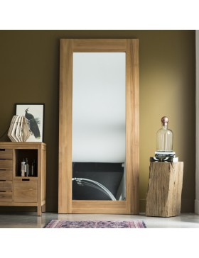 Miroir Teck Square 200x90